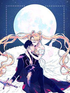 Sailor Moon Y Darien, Sailor Moon Usagi, Sailor Moon Art, Sailor Mars, Sailor Venus, Sailor Moon Crystal, Sailor Moon Wedding, Watch Sailor Moon, Princesa Serenity