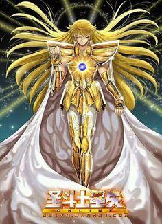 Virgo no Shaka Manga Drawing, Manga Art, Manga Anime, Anime Art, Virgo, Knights Of The Zodiac, Golden Warriors, Alternative Comics, Boy Pictures
