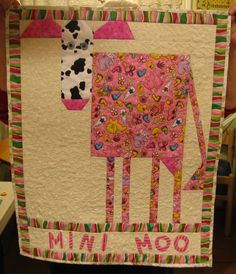 MARY LOU AND WHIMSY TOO: COW QUILTS from Dawn Tonoli- VERY fun!