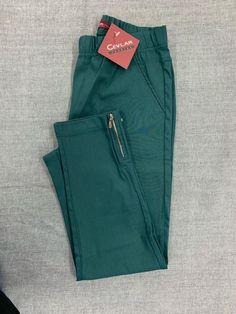 Spodnie z bengaliny Cevlar B04 kolor malachit - Big Sister