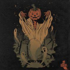 "@austinpardunart on Instagram: ""Awakening design I got to do for @midsummerscream #austinpardunart #vintagehalloween #ghost #halloweenart"" Halloween Apps, Halloween Artwork, Halloween Icons, Halloween Inspo, Halloween Poster, Creepy Halloween, Halloween Season, Halloween Themes, Fall Halloween"