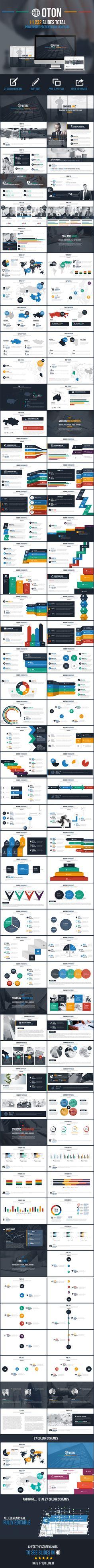 Oton Powerpoint Presentation Template #slides #design Download: http://graphicriver.net/item/oton-powerpoint-presentation-template/10949220?ref=ksioks