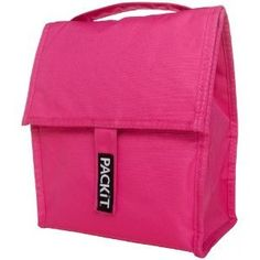 PackIt Poppy Freezable Personal Cooler Lunch Bag that you put in freezer when not in use then it is ready when you want to take something with you that needs refrigeration. No ice packs needed. Cool! Got mine on eBay for $26.99.
