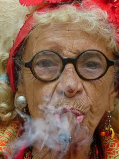 Granny Puretta of Havana .... http://www.pinterest.com/paul808ylee/smoking-hot-momma-granny-puretta/