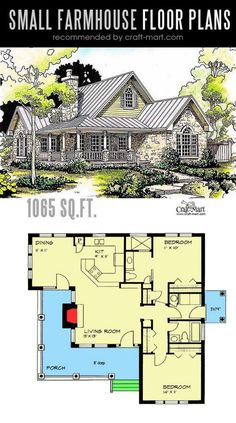 farmhouse flooring Designing and building a Hill Country Classic farmhouse can be a lot of fun! Look at the best small farmhouse plans that can fit almost any tight budget. Learn how you can design the best modern farmhouse and decorate it as a pro! The Plan, How To Plan, Dream House Plans, Small House Plans, Dream Houses, Small Cottage Plans, Small Rustic House, Small Modern Home, Luxury Houses
