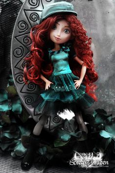 We love this doll by Scream Queen -based on brave