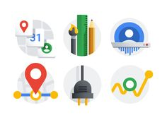 Google account icon set by German Kopytkov Google Icons, Art Google, Element Chart, 3d Icons, Google Account, Background For Photography, Business Flyer, Icon Set, Icon Design