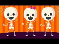 Shake Dem Halloween Bones | Halloween Songs for Children - YouTube