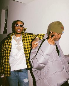 SPOTTED: Travis Scott W/ Quavo In Balenciaga, Gucci + Adidas  ||   http://pausemag.co.uk/2018/02/spotted-travis-scott-w-quavo-in-balenciaga-gucci-adidas/?utm_campaign=crowdfire&utm_content=crowdfire&utm_medium=social&utm_source=pinterest