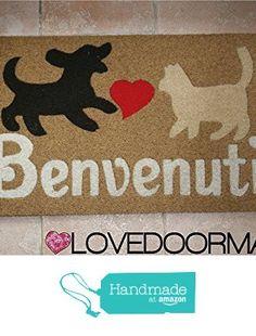 DOORMAT BENVENUTI CM. 75x45 DIRT BRUSH LOVEDOORMAT ® HANDMADE IN ITALY from LOVEDOORMAT https://www.amazon.co.uk/dp/B06ZZKV9M2/ref=hnd_sw_r_pi_dp_t6z-ybQWNZ83K #handmadeatamazon