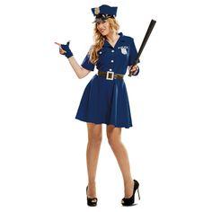 Disfraz de Agente Policía Mujer #disfraces #carnaval