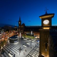 Kings Cross Square, London, United Kingdom. Architectural project: Stanton…