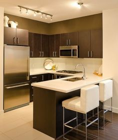 cocina contemporary kitchen designsmall - Interior Design Ideas Kitchen