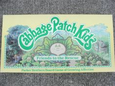 80's Cabbage Patch Kids Board Game