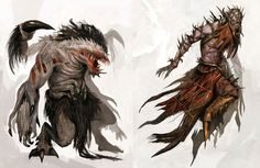 Torment Monster from Guild Wars Nightfall