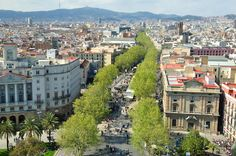 Oh, Las Ramblas! One of the most beautiful places on the planet.