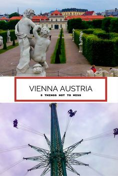 Vienna Austria straddles the mighty Danube river. Vienna is a regal city full of palaces, gardens and monuments