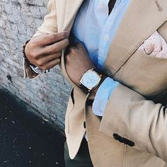 Owner's pics : @3patchpocket looking stylish with his Carlton chronograph in rose gold.