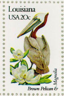 Louisiana stamp