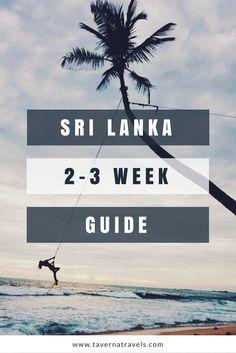 best sri lanka itinerary for 2 weeks