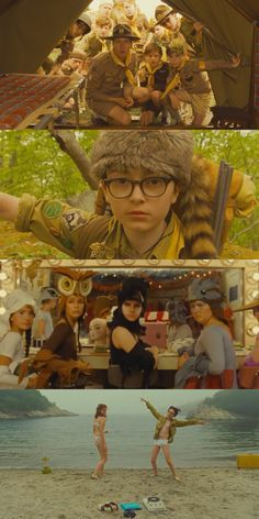 Moonrise Kingdom (2012)  Cinematography by Robert Yeoman Directed by Wes Anderson