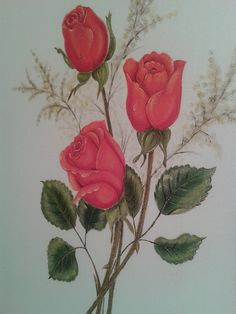 rosas pintuas - Pesquisa Google