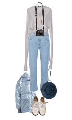 """""""Rythm of the waves"""" by mywayoflife ❤ liked on Polyvore featuring Ann Demeulemeester, STELLA McCARTNEY, Current/Elliott, Jacquie Aiche, Chanel and Clyde"""