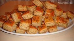 Recept na moje najchutnejšie škvarkové pagáče, či skôr pagáčiky. Vyskúšajte a uvidíte aká fajnotka to je... Russian Recipes, Yams, Clean Recipes, French Toast, Paleo, Sweets, Bread, Cheese, Chicken