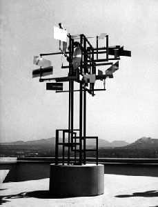 Sculptures de Nicolas Schöffer