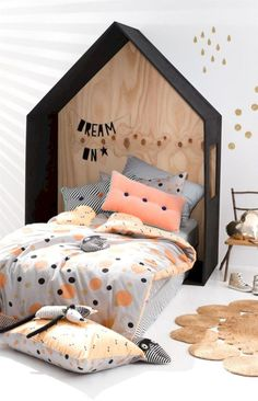 Cozy Single Bedroom Concept for Teens and Singles Part 9 Single Bedroom, Baby Bedroom, Girls Bedroom, Bedroom Decor, Single Quilt, Kids Room Design, Room Kids, Nursery Design, Design Design