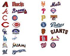 Krafty Nook: MLB - National Baseball League SVG Files