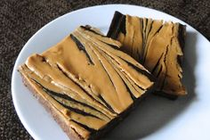 The Knoxville Holts: chocolate peanut butter {gf} brownies, low sugar