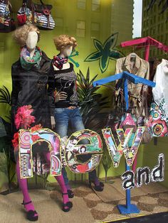 Over 100 creative spring window display ideas & designs from all over the world, with themes starting from flowers & nature to more abstract designs.