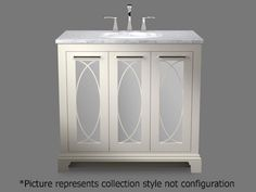 """Signature Vanity Thomas 42"""" also comes 48"""" all woods"""