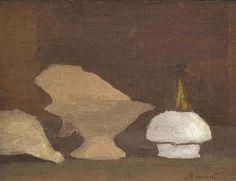 Giorgio Morandi (Italian, 1890-1964), Natura morta, 1931. Oil on canvas, 30.6 x 39.9 cm.