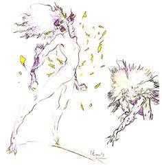 Terra - Esper - Pictures & Characters Art - Final Fantasy VI