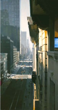 Ben Aronson - Fifth Avenue Looking South, 2010