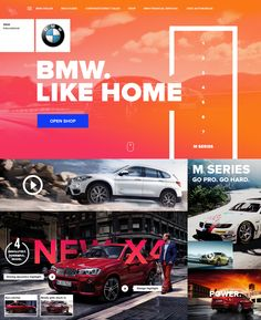 BMW Redesign on Behance
