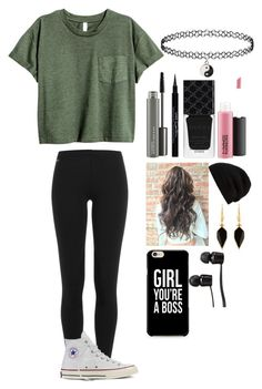 """Untitled #115"" by jazz-dazzle ❤ liked on Polyvore featuring Polo Ralph Lauren, Converse, MAC Cosmetics, Givenchy, Gucci, Rick Owens, Vans and Isabel Marant"