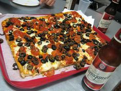 Pizza from Caserta Pizzeria in Providence, R.I.        #VisitRhodeIsland