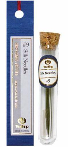 Notions - Tulip Needles - Silk Needles # 9 - 6 pack