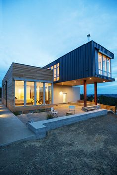 Cloverdale, By Chris Pardo Design: Elemental Architecture For Method Homes,  Sonoma, California
