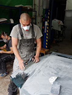 preparation for painting Repair Shop, Ms, Overalls, Pants, Pictures, Painting, Shopping, Fashion, Trouser Pants