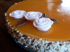 Markanpilkkuja: Vaniljainen persikkarahka-hyytelökakku Cake, Desserts, Recipes, Food, Tailgate Desserts, Deserts, Kuchen, Essen, Postres