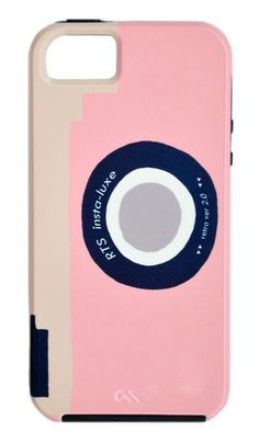 Retro Camera iPhone 5 Case by Leif