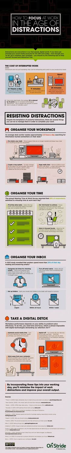 Your work environment has an enormous impact on how you work, your ability to focus, your comfort while working, and the ability to be productive. Whether you work at home or in a company setting, a well-designed work space can increase your productivity by more than 20%.