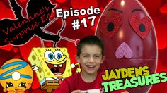 Giant Valentines Day EGG SURPRISE opening shopkins season 4 blind basket...kids toy reviews giant egg surprises shopkins season 4 blind baskets sponge bob kids video kids fun family fun children videos JAYDENS TREASURES on youtube make sure to subscribe!!