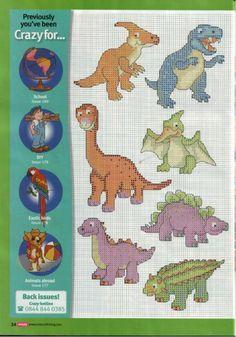 Cross Stitch Crazy 181 (October 2013) - Crazy for...Dinosaurs 1/2