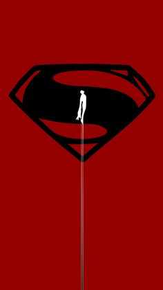 Superman, minimal, 720x1280 wallpaper