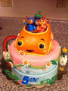 23+ Best Picture of Team Umizoomi Birthday Cake . Team Umizoomi Birthday Cake Team Umizoomi Cake Cakecentral  #BirthdayCakeToppers